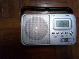 Vendo o cambio radio COBY