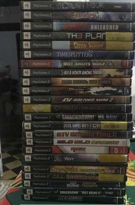 Lote de Juegos original para ps2 Play 2 Total son 30
