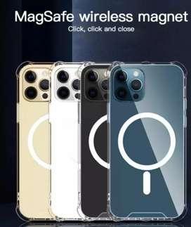 Forro transparente para MagSafe iPhone 12pro max