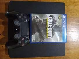PS4 SLIM 500GB con Joystick y Más de 60 juegos