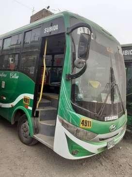 Minibus operativo