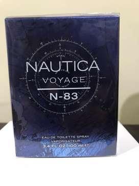 Perfume Naútica Voyage N-83 Nuevo Para Hombre