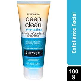 Exfoliante facial uso diario limpia tu rostro