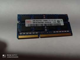 Memoria DDR3 4gb  12800s