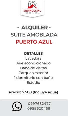 Alquiler de suite amoblada en Urdesa Central- Norte de Guayaquil