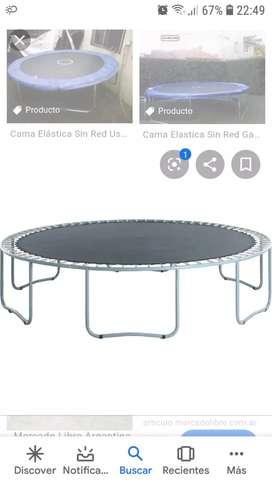 Cama elastica grande 3.60 líquido 10.000 o permuto por mesa de ping pong escucho oferta