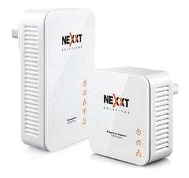 Kit de Adaptadores Nexxt Sparx 201-W, inalámbricos de red, línea eléctrica
