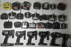 Lote de 28 mandos para radiocontrol