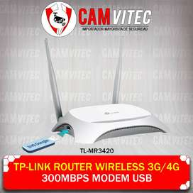 Tp-link Router Wireless 3g/4g 300mbps Modem Usb CAMVITEC segunda mano  Perú