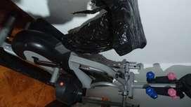 bicicleta eliptica multifuncional