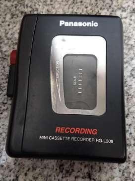 Grabador reportero  panasonic cassette
