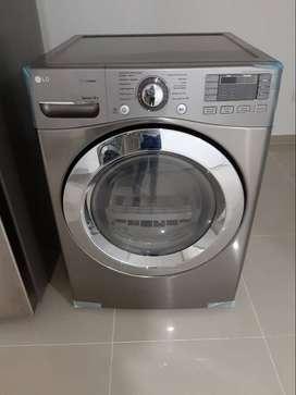 Secadora LG, 20 kg , conexión a gas