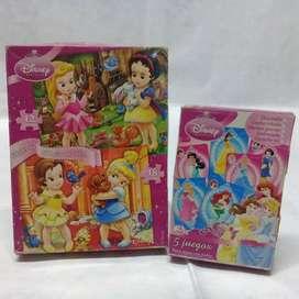 Vendo 2 Juegos de Mesa Disney Princesas
