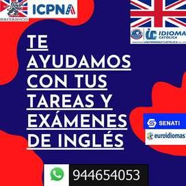 Apoyo en Inglés con los más especializados profesores