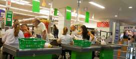 Cajero/a para Supermercado