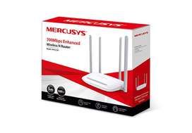 Router Inalámbrico Mercusys Mw325r N 300mbps 4 Antenas