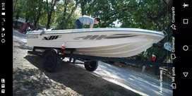 Vendo o Permuto Virgin marine 4.30 , Evinrude 35 hp y trailer
