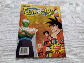 ALBUM DRAGON BALL 2 NAVARRETE (EDICION PERU) VACIO