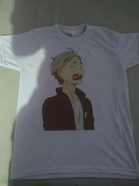 Camiseta animé Haikyu