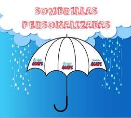 Sombrillas en sublimación personalizadas