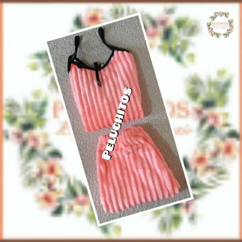 Pijamas termicas en Short para damas