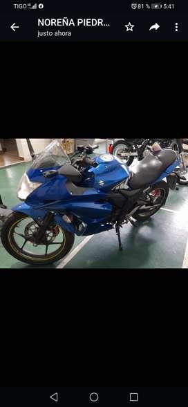 Moto gixxer sf 154