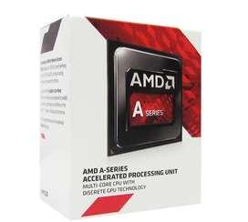 PROCESADOR AMD A6-7480, 3.80GHZ, 1MB CACHE, 2 CORE, FM2+, 65W.