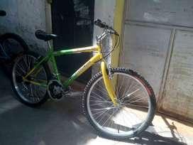 2 bicicletas semi nuevas