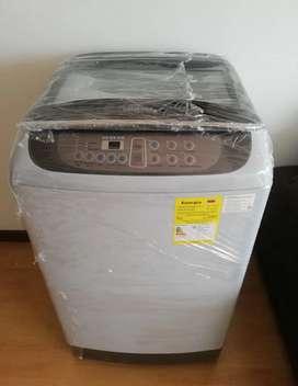 Lavadora Samsung 33 Libras 15 Kg Wa15f5l2udy1 Carga Superior