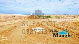Venta de Solares,Urbanizacion Ciudad Mangle,Solicitame el Plano 0987. 213710,Ubicada sobre un acntilado aLSur de MantaS1