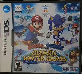 Juego Nintendo Ds Mario & Sonic Olympic Winter Game