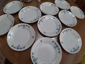 Vajilla de porcelana (20 piezas)