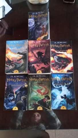 Saga Harry Potter completa, usada, en buen estado