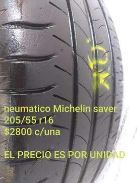 Neumatico Michelin saber 205/55r16
