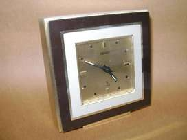 Reloj Seiko escritorio con alarma. Caja francesa c1960 / Maxim Nord