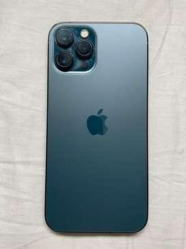 Vendo iphone 12 pro max de 128 gb azul casi nuevo exlente precio y estado