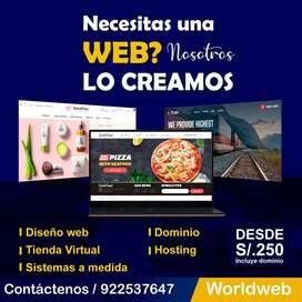 SERVICIO DE DESARROLLO WEB
