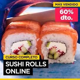 Curso completo de Sushi rolls On Line