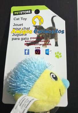 Cat Hedgehog Toy