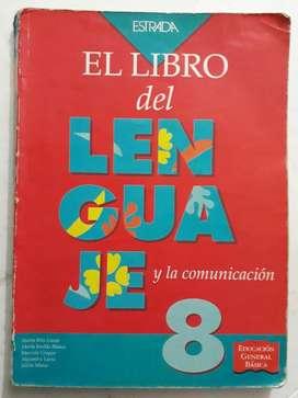 Manual Egb El Libro Del Lenguaje 8 Usado