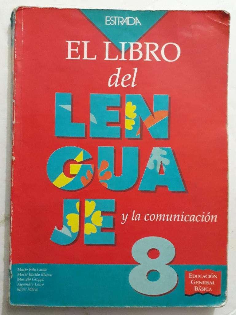 Manual Egb El Libro Del Lenguaje 8 Usado 0