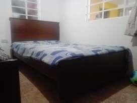 Se vende cama semidoble