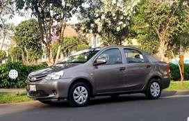 Toyota Etios Full Particular con Gnv