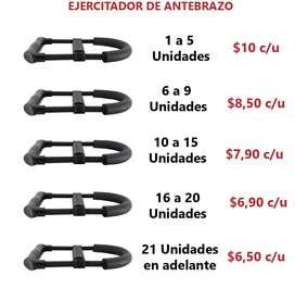 Ejercitadores de antebrazo (Al por mayor y menor)