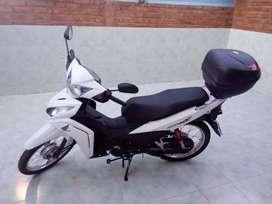 Vendo moto honda Wave 110 con baulera