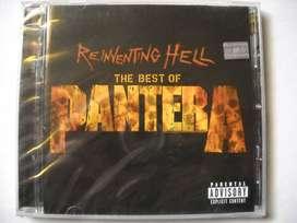 pantera reinventing hell best of cd sellado