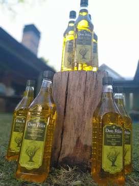 Aceite de OLIVA VIRGEN EXTRA PRODUCTO AUTÓCTONO