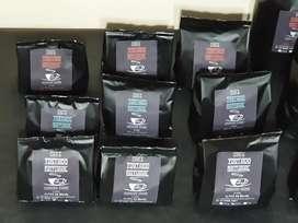 CAFE TOSTADO NATURAL SIN AZUCAR ALTOS DE BRASIL 850$ el kilo, 470$ 1/2 kilo, el 1/4 280$