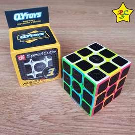 Warrior W Carbono Qiyi Cubo Rubik 3x3 Original Cobra Textura