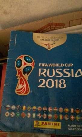 Album Mundial Rusia 2018- No Completo